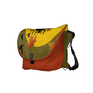 Pretty bag of autumn in Canada