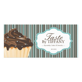 PRETTY BAKERY GIFT CERTIFICATE RACK CARDS