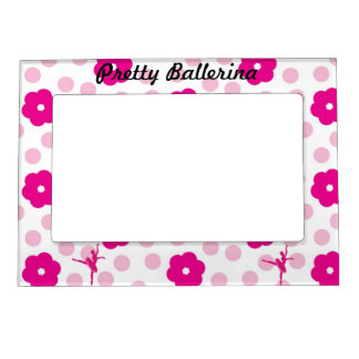 Pretty Ballerina Magnetic Frame