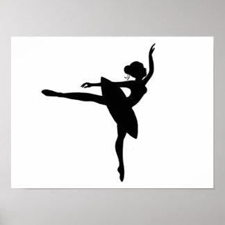 Pretty Ballerina print
