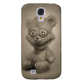 pretty bear in sepia samsung galaxy s4 cover