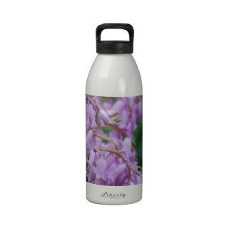 Pretty Bell Flowers Water Bottle