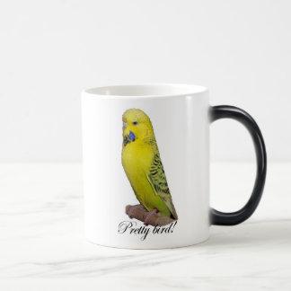 Pretty Bird morphing mug