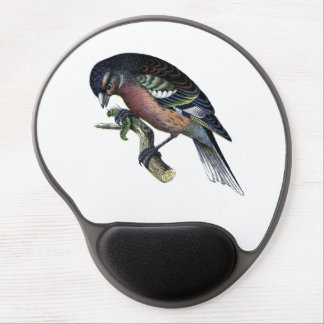 Pretty Bird on Branch Gel Mouse Pad
