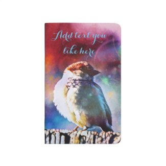 Pretty Bird pocket journal