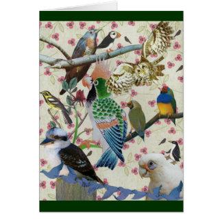 Pretty Birdies Card