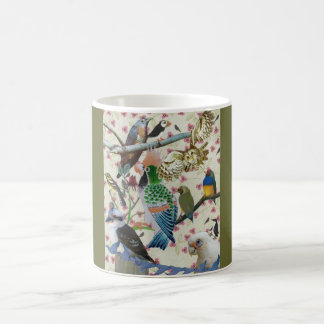 Pretty Birdies Coffee Mugs