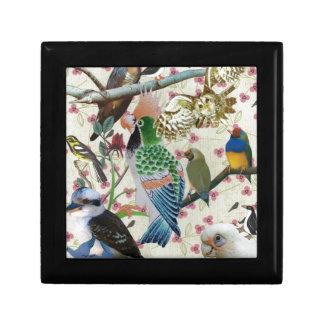 Pretty Birdies Keepsake Box
