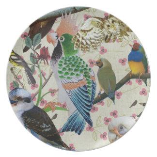Pretty Birdies Plate