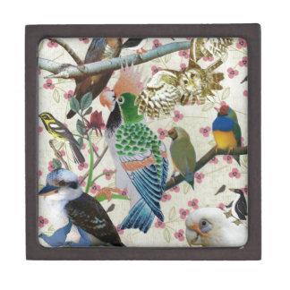 Pretty Birdies Premium Jewelry Boxes