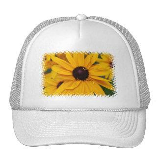 Pretty Black-Eyed Susan Baseball Hat