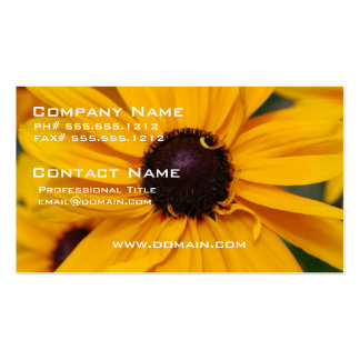 Pretty Black-Eyed Susan Business Cards
