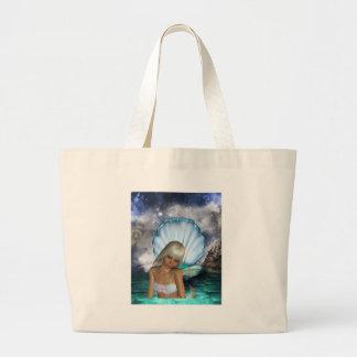 Pretty Blonde Mermaid Bags