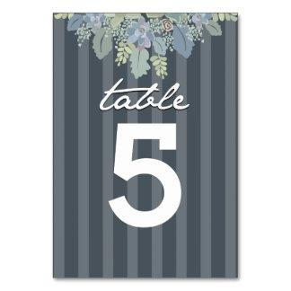Pretty Bloom Vintage Garden Wedding Table Number