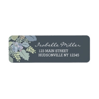Pretty Blooms Vintage Garden Wedding Labels