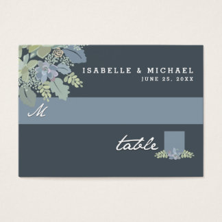 Pretty Blooms Vintage Garden Wedding Seating Cards