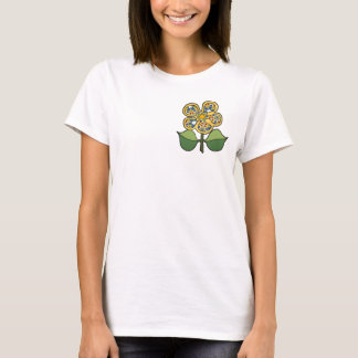 Pretty Blossom - Bright yellow with primary colors T-Shirt