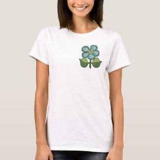 Pretty Blossom - Circles of Green T-Shirt