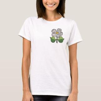Pretty Blossom - Cracked earth pattern T-Shirt