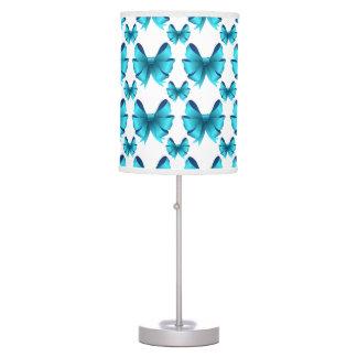 pretty blue bows lamps. Black Bedroom Furniture Sets. Home Design Ideas