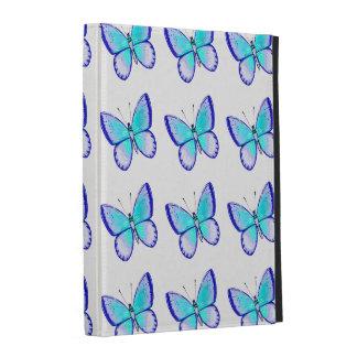 Pretty Blue Butterflies iPad Folio Covers