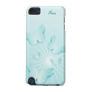 Pretty Blue Butterflies iPod 5g case