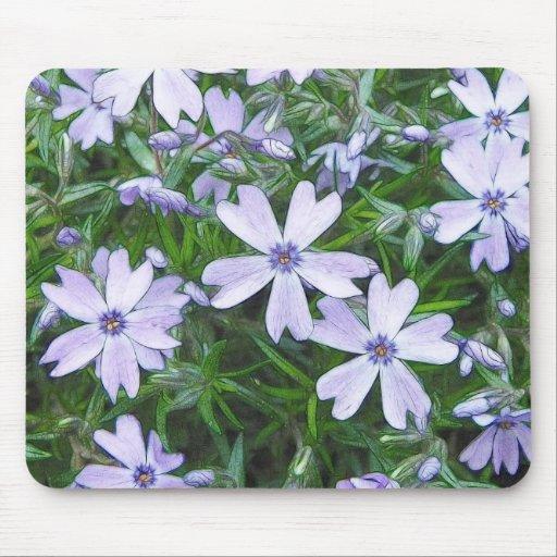 Pretty Blue Creeping Phlox Mouse Pad