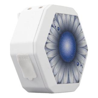 Pretty Blue Eyes White Bluetooth Speaker