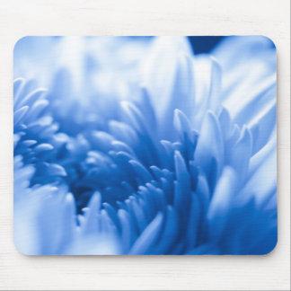 Pretty Blue flower Close Up Mouse Pad