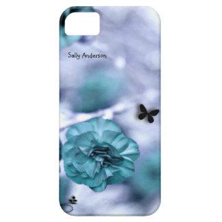 Pretty Blue Flowers iPhone SE/5/5s Case