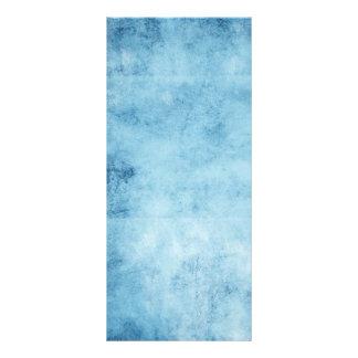 Pretty Blue Frozen Skies Background Custom Rack Cards