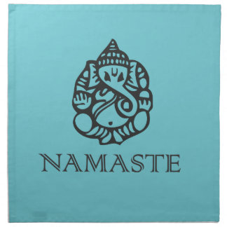 Pretty Blue Ganesh Design Cloth Napkin