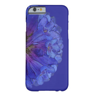 Pretty Blue Penstemon Flowers Barely There iPhone 6 Case