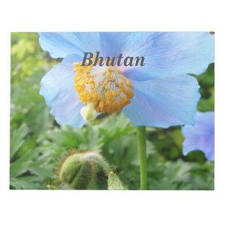 Pretty Blue Poppy Notepads