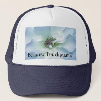 Pretty blue Rose Trucker Hat