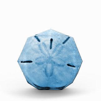 Pretty Blue Sand Dollar Award