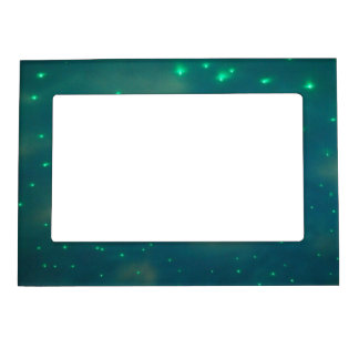 Pretty Blue Sky Lights Magnetic Photo Frame