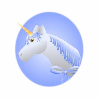 Pretty Blue Unicorn Cut Out