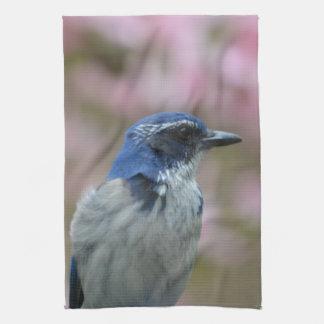 Pretty Bluebird Hand Towel