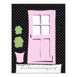 Pretty Blush Pink Door Personalized Invite