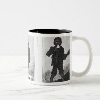 Pretty Bob, Poor Bob, Bandy Bob, 1819 Coffee Mugs