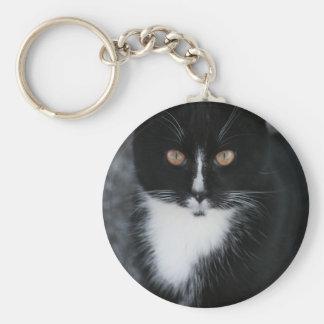 Pretty Boy Tuxedo Kitty Keychains