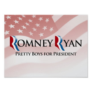 PRETTY BOYS FOR PRESIDENT -.png Posters