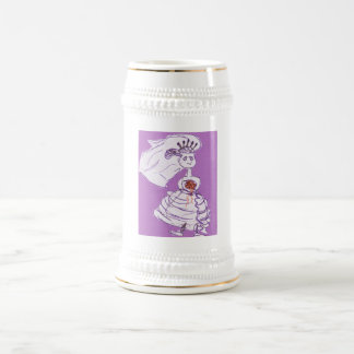 Pretty Bride Bachelorette Beer Stein