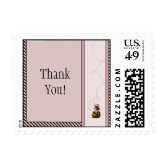 Pretty Brown Bear Color Swatches Stamps