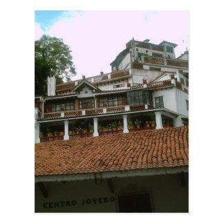 Pretty buildings in Taxco Postcard