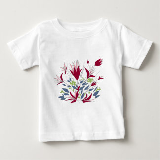 Pretty Bunch Of flowers Baby T-Shirt