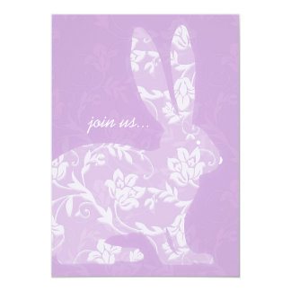 Pretty Bunny Easter Celebration Invitation