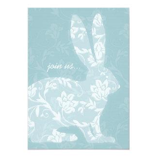 Pretty Bunny Easter Celebration Invitation