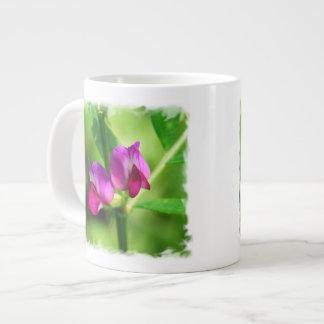 Pretty Bush Vetch Flowers Large Coffee Mug